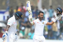 Dimuth Karunaratne And Lahiru Thirimanne Fires Sri Lanka To 1 0 Lead