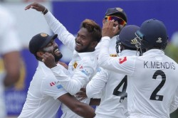 Sl Vs Nz 1st Test Akila Dananjaya Takes Five Wicket Haul To Put New Zealand On Back Foot