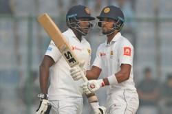 Sri Lanka Recall Dinesh Chandimal Angelo Mathews For First New Zealand