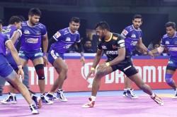 Pkl 2019 Baahubali Siddharth Desai S Masterclass Gives Telugu Titans Win Over Haryana Steelers