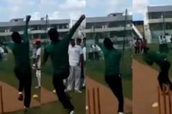 Young Bangladesh Bowler Imitates Jasprit Bumrah S Bowling Action