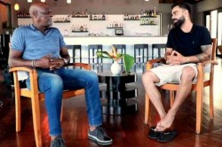 Virat Kohli Turns Anchor And Interviews Viv Richards Ahead Of India West Indies 1st Test