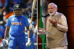 Ms Dhoni Only Behind Prime Minister Narendra Modi In List Of Most Admired Man In India Report