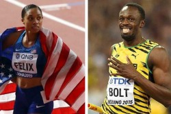 Allyson Felix Surpasses Usain Bolt World Record Tally Of Gold Medals In World Championships