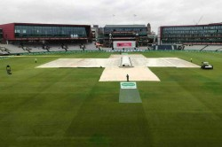 Ashes 2019 Rain Washes Out Morning Session At Old Trafford On Day