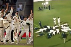 Watch Australia Players Sing John Williamson S True Blue After Retaining Ashes Urn