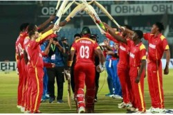 Zimbabwe S Hamilton Masakadza Breaks All Time T20i Record In His Farewell International Game