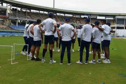 India Vs South Africa 1st Test Indian Players Practice Under Head Coach Ravi Shastri