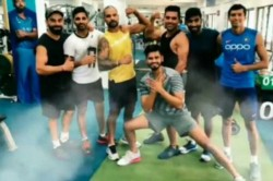Team India Players Were Seen Sweating It Out In The Nca Gym In Bengaluru