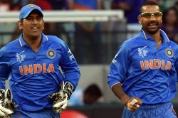 Ms Dhoni Knows When He Should Bow Out From International Cricket Says Shikhar Dhawan