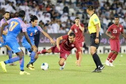 Fifa World Cup 2022 Qualifiers India Hold Asian Champions Qatar To 0 0 Draw