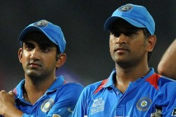 It Is Not About Dhoni It Is About The Country Gautam Gambhir On Ms Dhonis Future In Team India