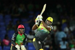 Cpl 2019 Chris Gayle S Super Century In Vain As Patriots Complete Highest Ever Cpl Chase