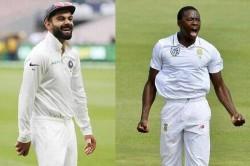 Virat Kohli Is The Best Batsman In White Ball Format Says Kagiso Rabada