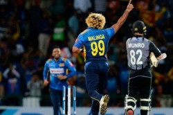 History Maker Lasith Malinga Takes Four In Four Against New Zealand Becomes First Bowler To Pick Up