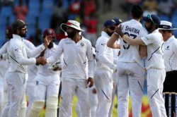 West Indies Vs India 2nd Test Ravindra Jadeja Mohammad Shami Help India Complete Series Sweep