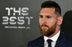 Been A Long Time Without Winning An Individual Prize Lionel Messi After Fifa Player Of Year Award