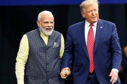 Us President Donald Trump Said He Might Come To Mumbai For The First Nba Match