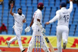 West Indies Vs India How Many Runs Did Mohammed Shami Score