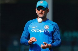 Ms Dhoni To Extend His Break Till November Likely To Miss Bangladesh Series