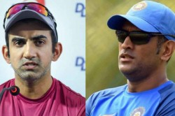 Gautam Gambhir Fire On Ms Dhoni Retirment You Cannot Select The Series You Want To Play