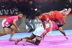 Pkl 2019 Dabang Delhi Defeat Jaipur Pink Panthers To Consolidate Their Position Ontop Of The Table