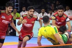 Pkl 2019 Pawan Sehrawat Sizzles As Bengaluru Bulls Score First Home Win