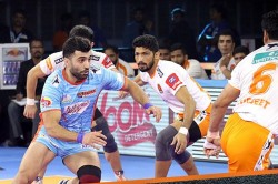 Pkl 2019 Mohammad Nabibakhsh S Late Super Raid Helps Bengal Warriors Win Against Puneri Paltan