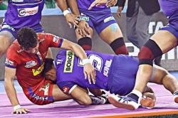 Pkl 2019 Super 10s From Vikhas Kandola And Prashanth Rai Help Haryana Steelers