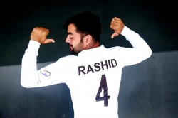 Afghanistan Skipper Rashid Khan Beats Tatenda Taibu To Become Youngest Ever Test Captain