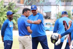 Rahul Dravid Meets Head Coach Ravi Shastri In Bengaluru Shares Inputs With Team India