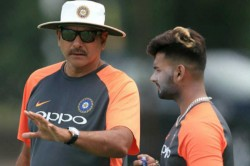 Am I There Only To Play Tabla Ravi Shastri Defends Pulling Up Rishab Pant