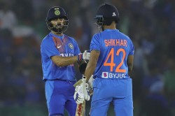India Vs South Africa Shikhar Dhawan Changed Jersey Number 25 To 42 In 2nd T20i