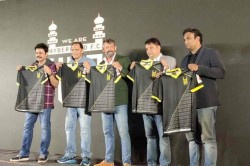 Hyderabad Fc Launches Jersey Ahead Of Indian Super League 2019