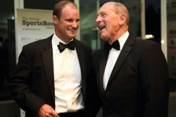 Former England Captains Geoffrey Boycott And Andrew Strauss Receive Knighthoods
