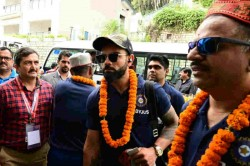 Ind Vs Sa Captain Virat Kohli Has Arrived In Visakhapatnam For 1st Test