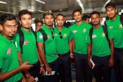 India Vs Bangladesh Bangladesh Team Arrives In Delhi Ahead Of First T20i