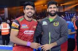 Pkl 7 Pawan Sehrawat 39 Raid Point Performance Powers Bengaluru Bulls Into The Playoffs