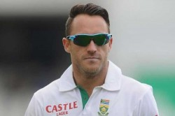 South Africa Captain Faf Du Plessis May Send Teammate At Toss In Ranchi Test
