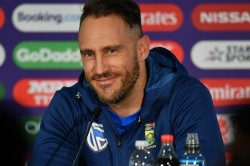Indian Cricket Fans Slams Faf Du Plessis Ridiculous Statement On Toss India Thrashing