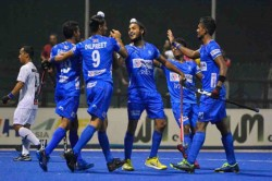 India Presents To Bid Host Men S Hockey World Cup In