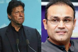 Virender Sehwag Says Pakistan Pm Imran Khan Is Finding New Ways To Humiliate Himself