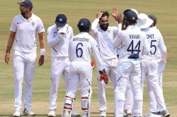 Ind Vs Sa Mohammed Shami Ravindra Jadeja Star As India Beat South Africa By 203 Runs