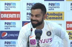 Virat Kohli Laughed When Asked About Sourav Ganguly Seeking Clarity On Ms Dhoni Future
