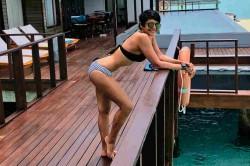 Anchor Mandira Bedi S Under Water Adventures In Maldives Also Bikini Photo S Goes Viral