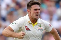 Mitchell Marsh Punches Dressing Room Wall Injures Bowling Hand