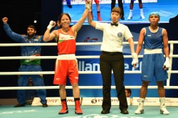 Mary Kom Assured Yet Another World Championship Medal After Defeating Valencia Victoria 5
