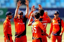Netherlands Thrash Uae To Secure 2020 T20 World Cup Berth