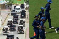 Pakistan Vs Sri Lanka 2nd Odi Heavy Security To Sri Lanka Team In Karachi