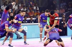 Pro Kabaddi League 2019 Dabang Delhi Bengal Warriors Qualify Final